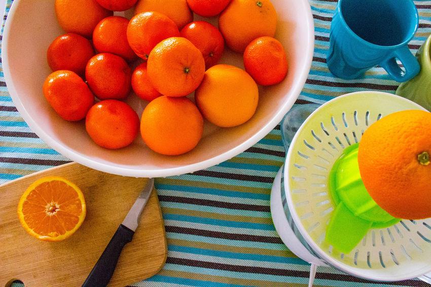 Bowl Citrus Fruit Food Food And Drink Food Stories Freshness Fruit Healthy Eating Healthy Lifestyle High Angle View Orange - Fruit Orange Color Orange Juice  Plate SLICE