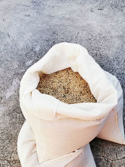 High angle view of dried food for sale