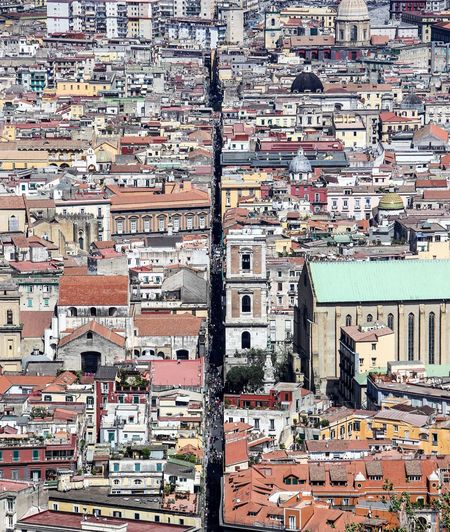 Napoli Naples, Italy Naples Napoli Spacca Napolli Spaccanapoli Full Frame Backgrounds Architecture No People Built Structure Pattern Building Exterior Day City
