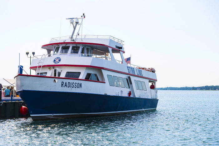 Boat Clear Sky Cruise Ship Day Ferry Luxury Mode Of Transport Nature Nautical Vessel No People Outdoors Passenger Craft Sailing Sea Ship Sky Transportation Vacations Water Yacht