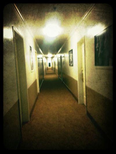 Hollywood Historic Hotel Haunted Hotel Haunted Hollywood Ghosts luv my creepy hallway