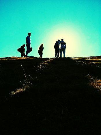 Vscocam Climbing Holyrood Park Scotland Edinburgh Class Trip People Uk Friends Sun