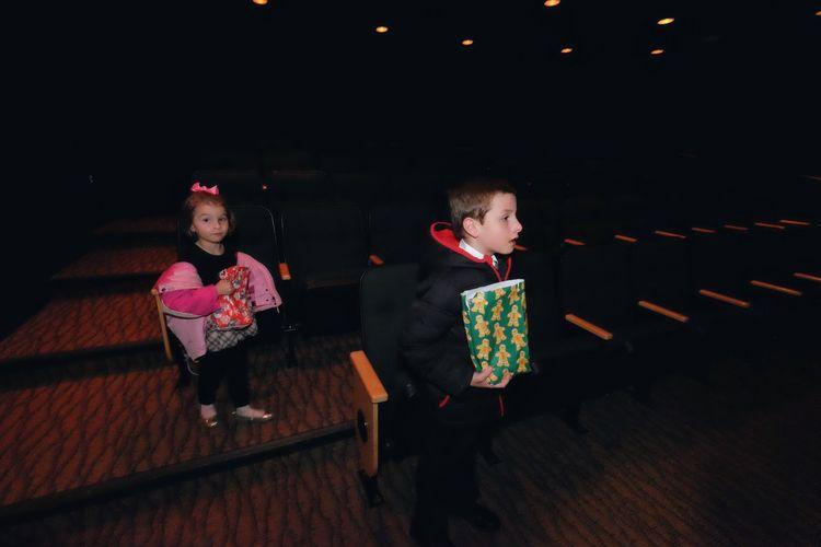 Children in theater