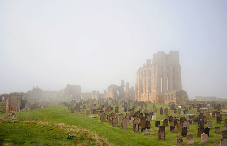 Ancient Architectural Column Architecture Cemetery Fog Foggy Day Foggy Morning Grassy Historic History Landscape Nature Outdoors Sky The Past Travel Destinations