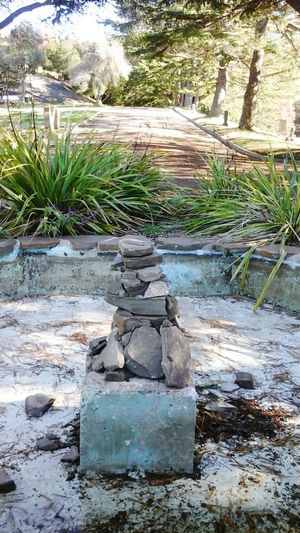 Old Fountain /rockwork-art Seen On My Walk From My Point Of View Nature Luver Every Picture Tells A Story