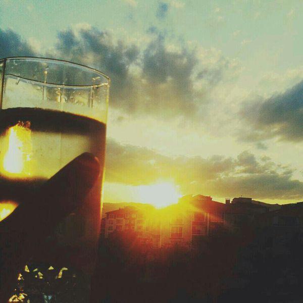 Gün Batımı Aşkgökyüzünde Ensevdigim♥