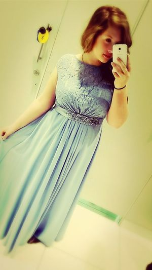Potential prom dress!! Thoughts people? Comment Prom Beautiful Dress  Pastel Blue