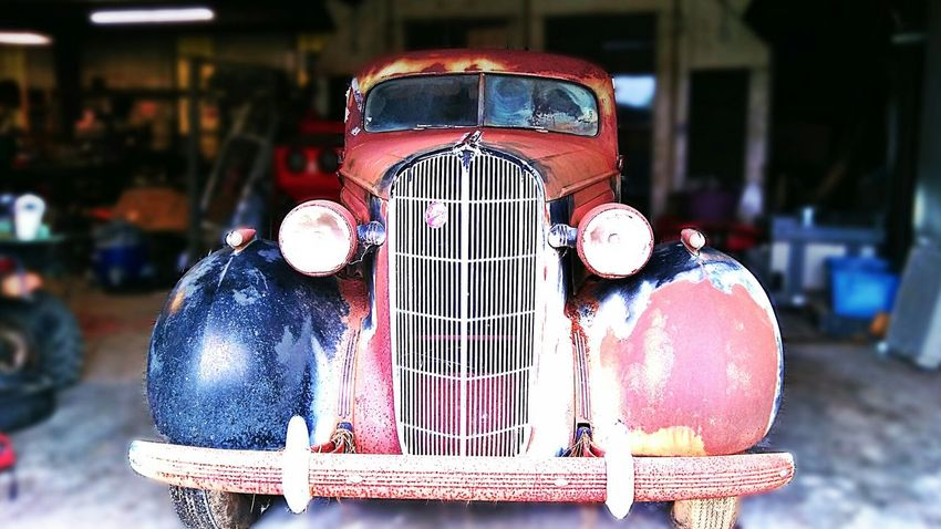 Barn Find Focus On Foreground Red Transportation Land Vehicle Mode Of Transport Buick Straight 8 Buick Restoration Buick Project Restoration Project North Carolina Barn Find 1930s 1930's