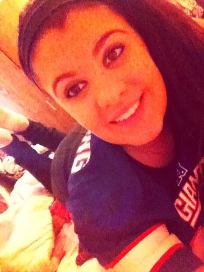 i rep the giants. (: