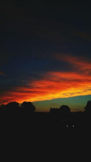 Spectacular Outdoors Field Sunset