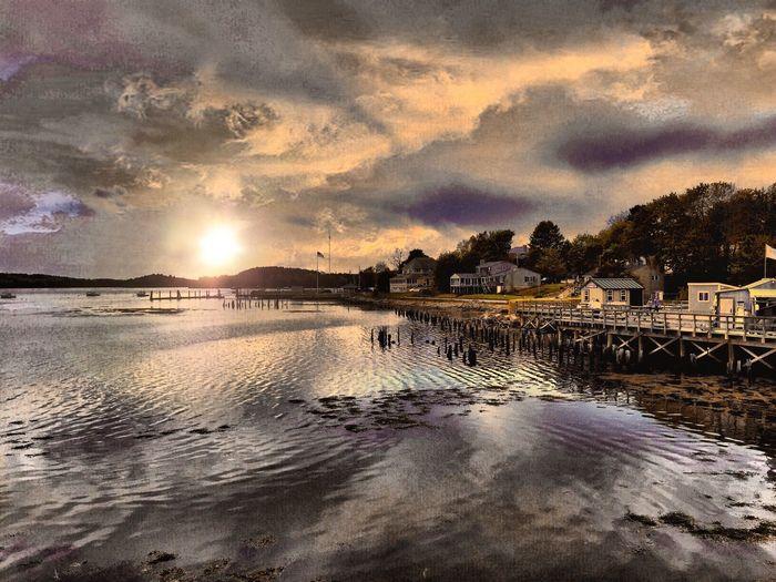 Shoreline My Town On The Water Taking Photos Carol Sharkey Photography Maine