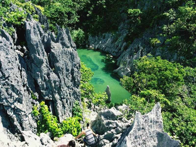 Magical pond Eyeem Philippines Nature Hiking Philippines Rock Formations EyeEm Nature Lover More Fun In The Philippines  Enjoying The Sun Island Hopping Landscapes With WhiteWall The Great Outdoors - 2016 EyeEm Awards - at Caramoan Island, Camarines Sur