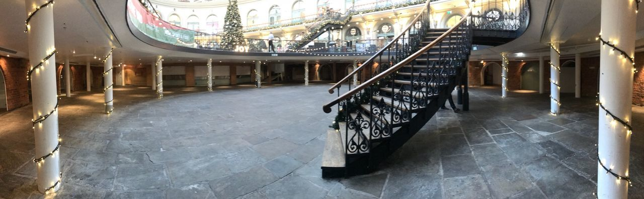 Corn Exchange EyeEm Selects Architecture Built Structure Railing No People Arts Culture And Entertainment Lighting Equipment