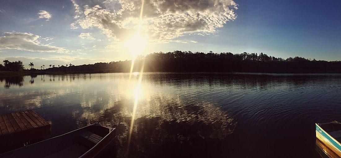 Sunlight Reflection Nature Lake Outdoors Vacations