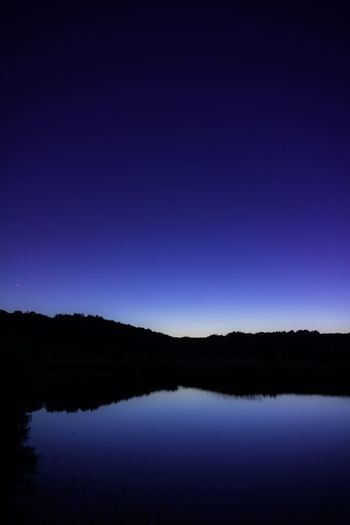 Water Reflections Reflection Water Lake WallpaperForMobile Wallpaper Blue Landscape Blue Hour Reflection Nature Non-urban Scene Night Blue Clear Sky Tree Idyllic Silhouette Plant Purple