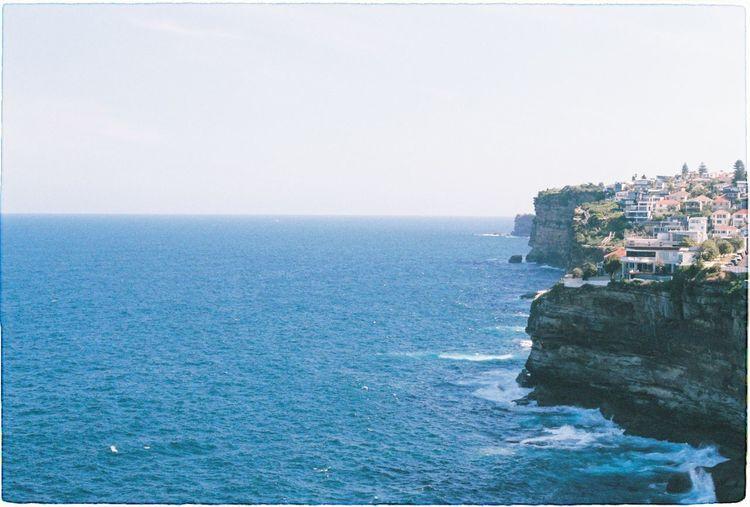 Blue ocean by