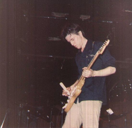 James Britt with Chinese Forehead at CBGB ca 1979 CBGB Dance Noise JamesBritt NYC First Eyeem Photo