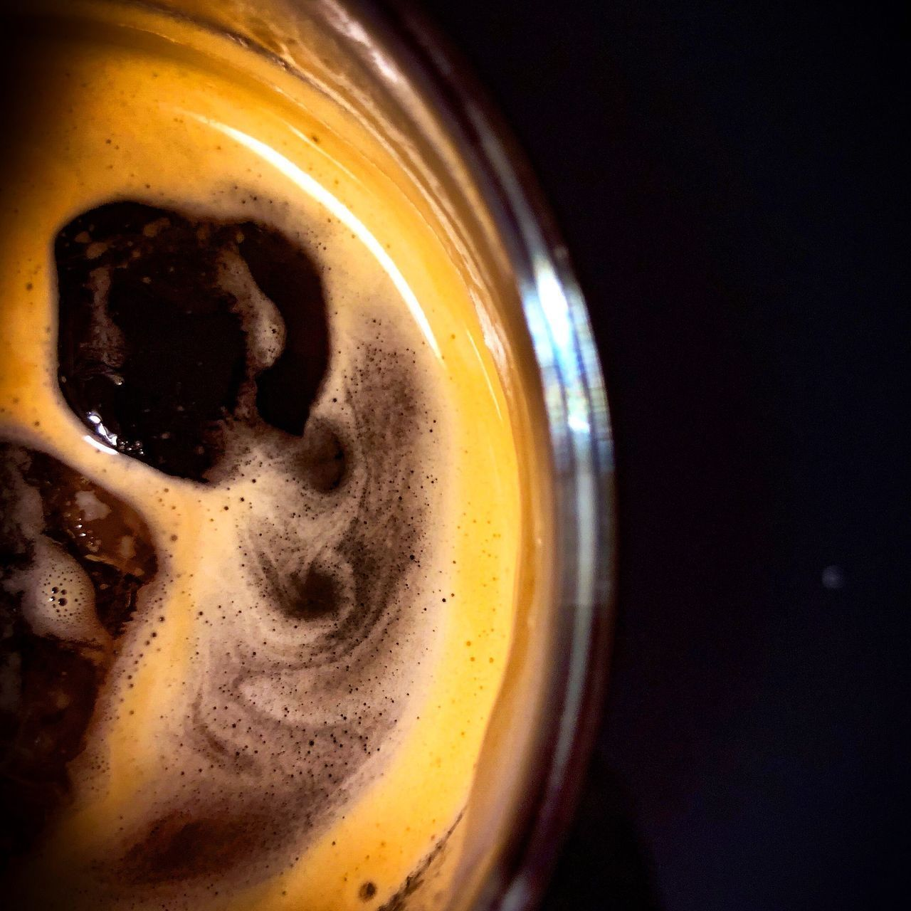 refreshment, drink, food and drink, close-up, indoors, still life, frothy drink, no people, coffee - drink, coffee cup, coffee, beer, mug, cup, glass, beer - alcohol, freshness, alcohol, drinking glass, focus on foreground, black background, froth