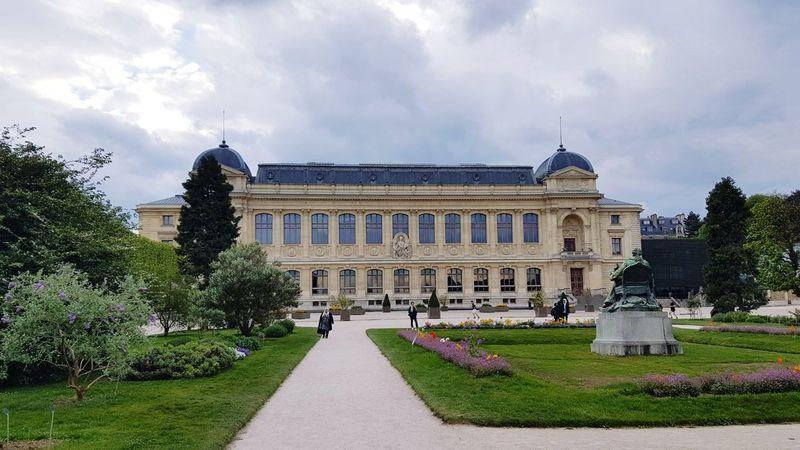 Architecture Building Exterior Built Structure Jardin Des Plantes Paris