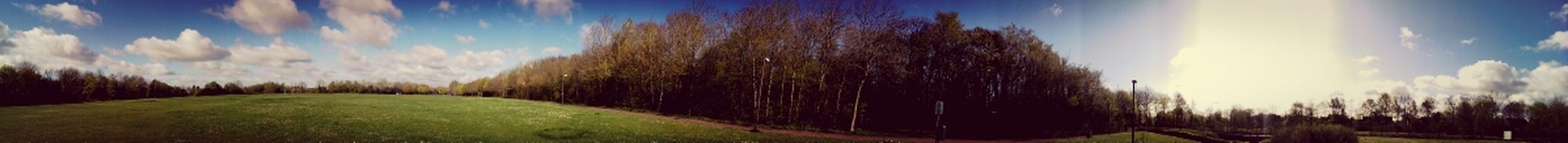 panoramic view of conniburrow play ground