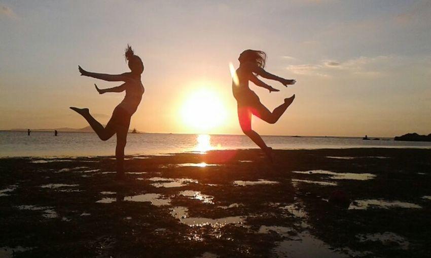 Burt Beach, Calatagan, Batangas Beach Freedom Friends Sunset Space