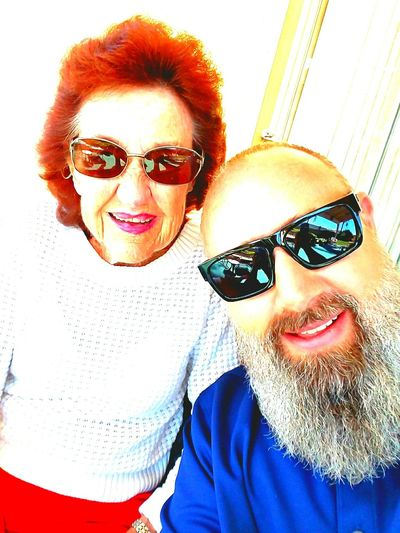 Sunglasses Looking At Camera Eyeglasses  Smiling Cheerful Happiness Real People Adults Only Horn Rimmed Glasses Octoberphotooftheday October 2017 Faith&devotion Grandma And Grandson Waiting For Someone Seeing The World Differently Thewaythetruththelife Grandmashouse Sunny Close-up Fragility Waiting