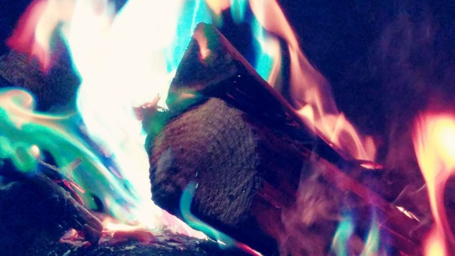 Multi Colored No People Night Outdoors Illuminated Nature Close-up Campfire Campfire Colors Color Photography Camping Fire Fire Enhancers Flames This Week On Eyeem Beautiful Around The Campfire Wood Burning Burn Burning Wood Close Up This Week On Eyem Elements