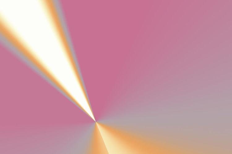 Full frame shot of rainbow over pink background