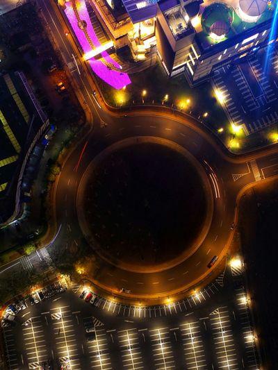 street Night Cityscape City Nightlife DJI Phantom 3 Professional DJI Phantom 3 Skypixel Aerialphotography Dji Cityscape Long Exposure Aerial View