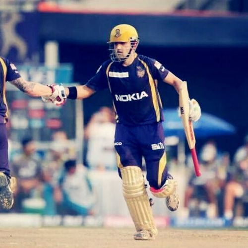 Hustle In Silence And Let Ur Success Make The NoiseGauthamgambhir Madly Inlove <3 KkrRocks SuperbGame