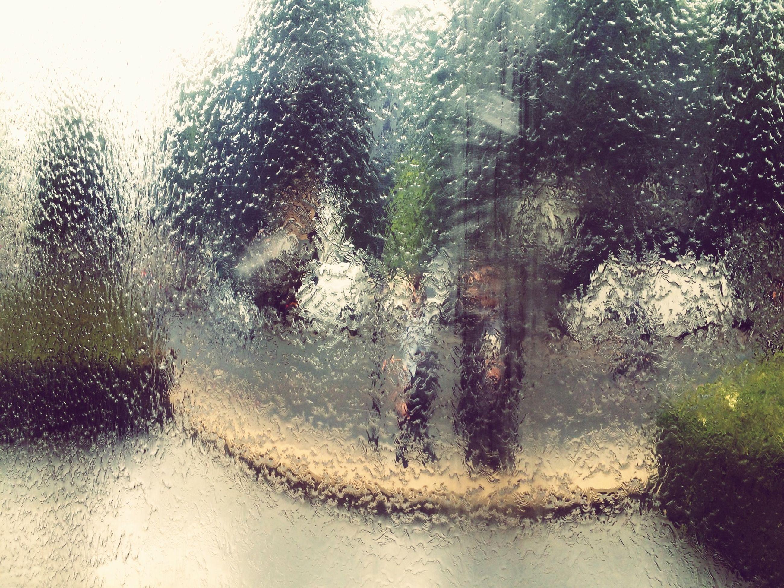 water, wet, drop, transparent, rain, window, glass - material, season, weather, reflection, puddle, raindrop, monsoon, full frame, street, rainy season, high angle view, close-up, nature, day