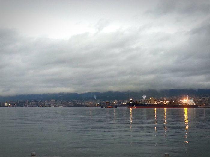 Samsung Galaxy S3 Taking Photos Buongiorno Drammatico Porto Primamattina Clouds And Sky Cloud