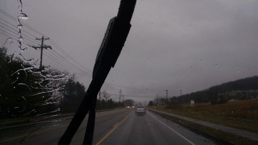 obsessed with life Not Texting Enjoying Life Rainy Days Action Shot  Not Really Close-up Rain Drops Windshield Wipers Windshieldporn