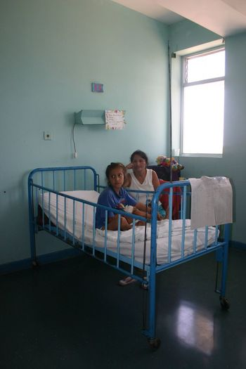 Peru Piura Heart-Operation Heartsurgery Children After The Heartoperation Visiting Hospital