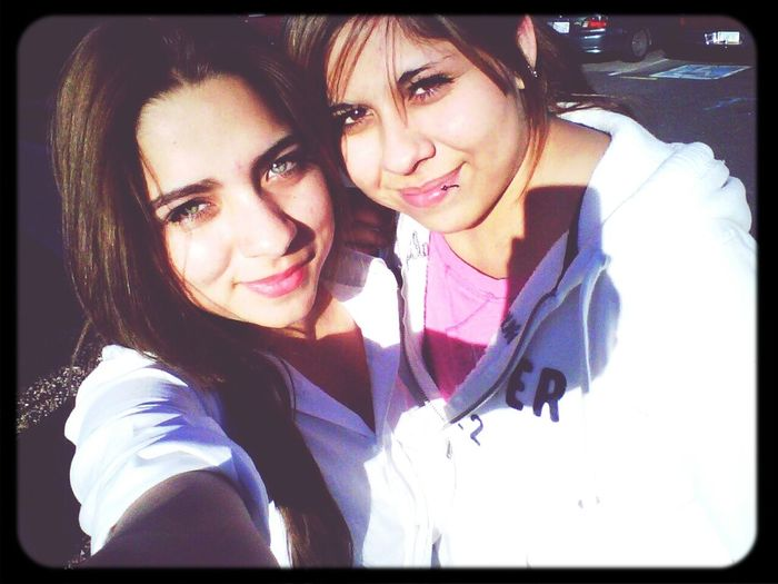 my beautiful cousin &' i c: