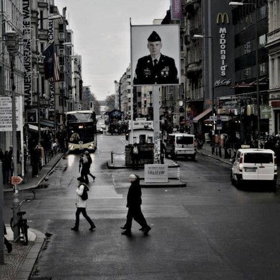 The Street Photographer - 2014 EyeEm Awards Berlin Checkpointcharlie