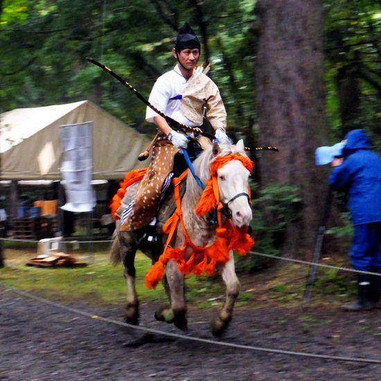 流鏑馬(其の壱) Yabusame Archery Horse Culture