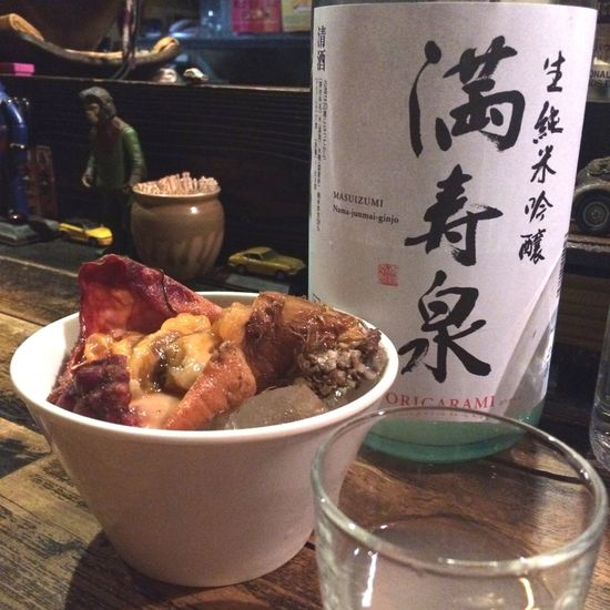 胡麻牛蒡(ごまごぼう)和えと次のお酒さまにつづく!