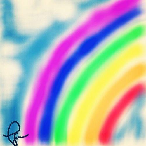 I can Draw !!! Yeyme ! Note2 Rainbow kidinside bored