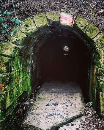 Into the darkness. Tunnel Dark Light Stone Outdoors Walk Saturday Southyorkshire Followback Follow4follow