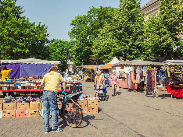 street market in may 2014 FujiFilm X20 Street Photography Brandenburg Street Market