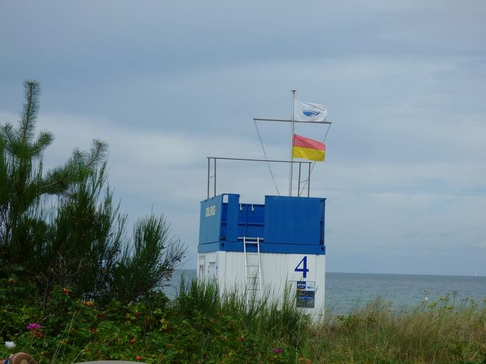 Sun Sea Landscape Travel Summer Sunny Sky Beach Nature No People Day Outdoors Ostsee Kühlungsborn Vacations Cloud - Sky Built Structure