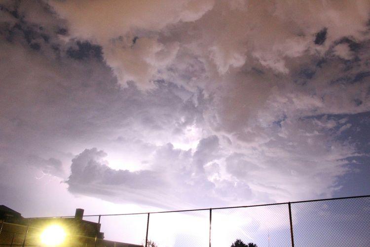 Thunderstorm in
