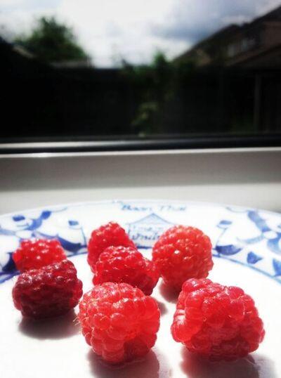 Rasberries Amazing Fruit In My Garden My Hobby :)