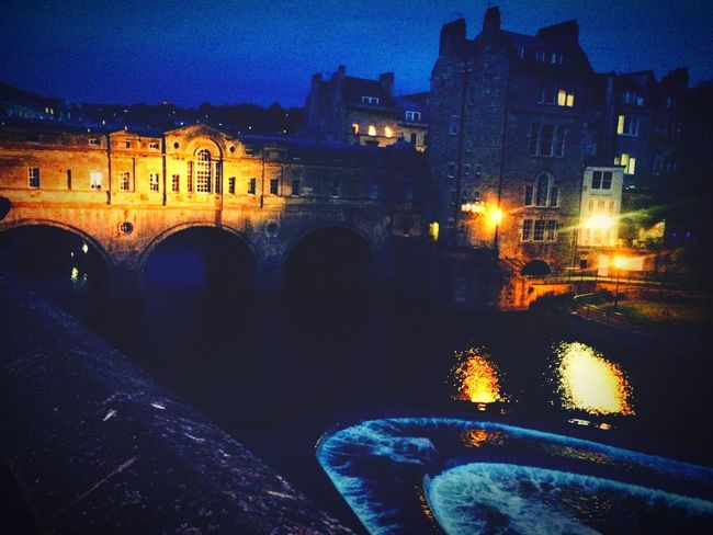 Bath at night Bath Architecture Sunset