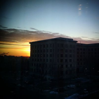 Sunrise over Lovelansing .