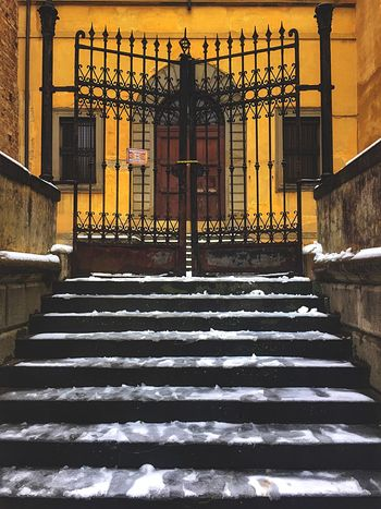 Snowflake Snow Firenze Italia Firenze Florence Italy Steps Steps And Staircases Staircase Railing Built Structure Architecture No People Building Exterior Day Outdoors