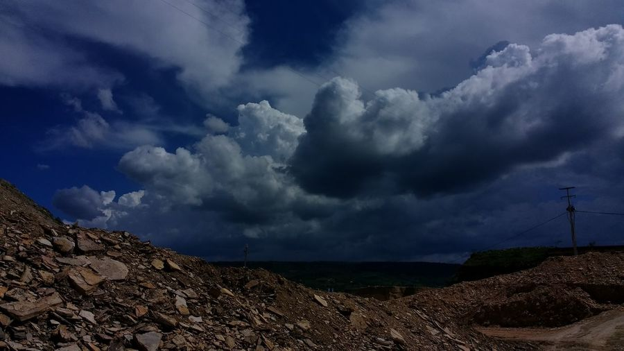 Dramatic Sky Storm Cloud Thunderstorm Cloud - Sky Awe Storm Outdoors Extreme Weather Power In Nature No People Céus E Nuvens Ceará Ceará-Brasil Brazil Tranquility Nature Tourism
