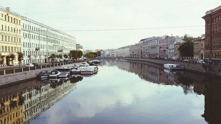 Russia City Saint-Petersburg Stone Boxes Check This Out Canal Morning Walking