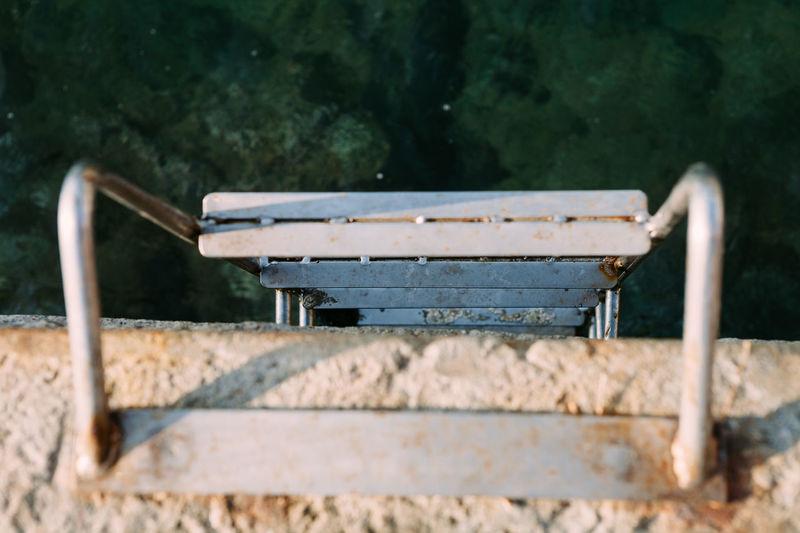 Close-Up Of Ladder